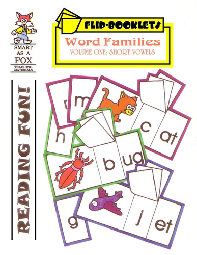Short Vowels Flip Booklets