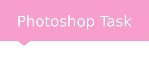 Teaching PhotoShop GCSE