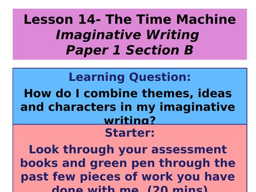 English Creative Writing KS3