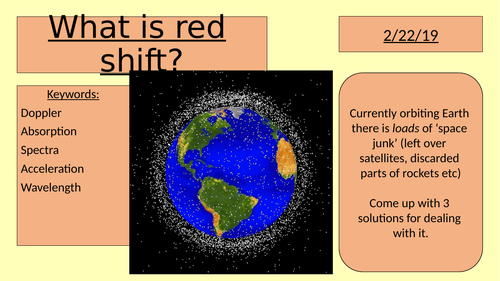 What is red shift? (GCSE space Doppler effect)
