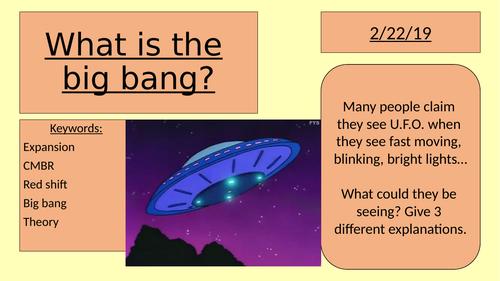 What is the big bang? (GCSE space big bang theory)
