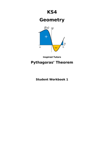 Pythagoras Theorem Student Workpack