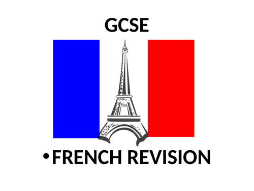 L'ENVIRONNEMENT GCSE REVISION
