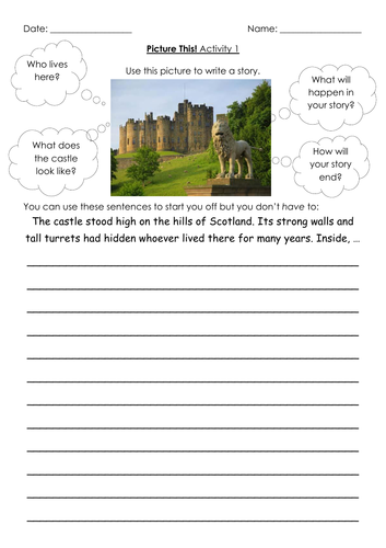 Creative Writing Picture Story Starters