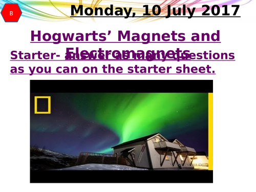 Hogwarts' Magnets and Electromagnets Revision