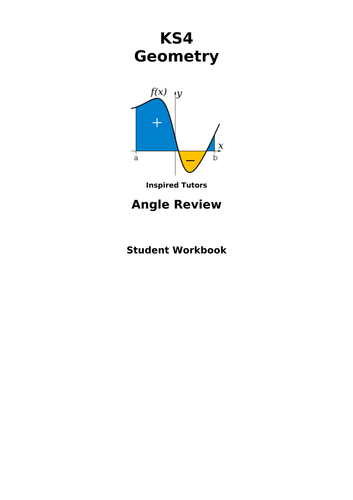 Student angles workpack