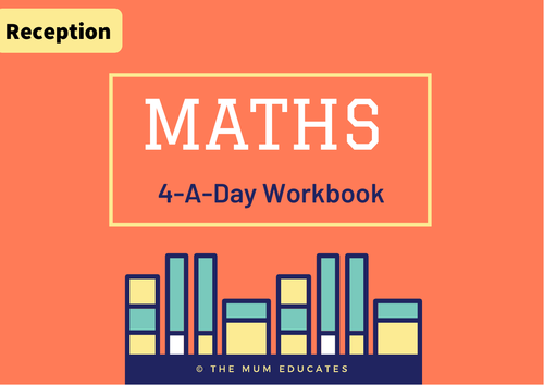 4-A-Day Maths Reception Early Years Book