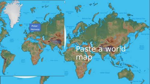 Latitude and Landscapes: make an interactive map