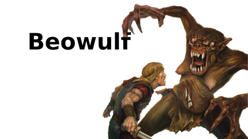 Beowulf lessons - Character descriptions