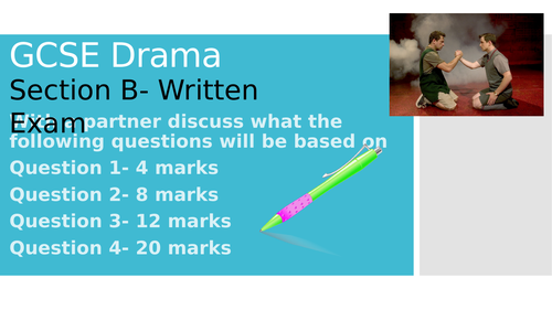 AQA GCSE Drama Powerpoints on the Written Paper