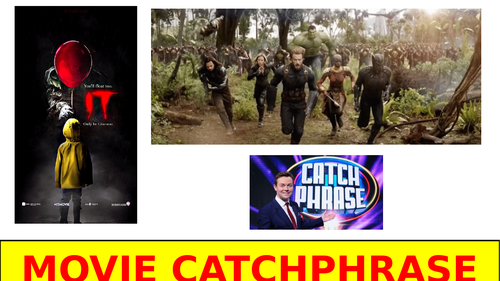 Movie & TV CATCHPHRASE!