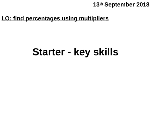 Introduction to multipliers