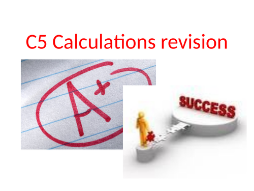 GCSE Chemistry Moles and Calculations Revision