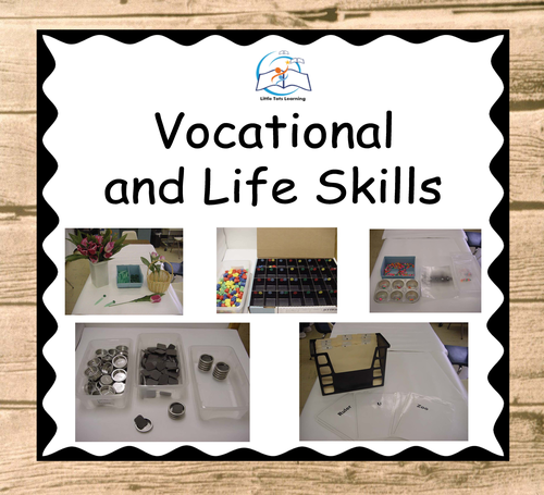 Vocational Life Skills | Vocational Skills | Special Education