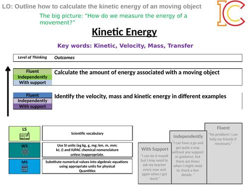 Energy 03 - Kinetic Energy AQA New Physics 9-1