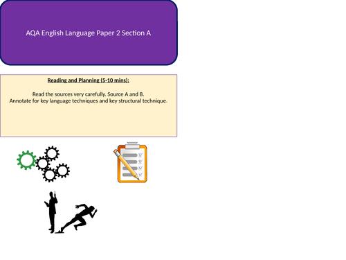 AQA English Language Paper 2 Section A