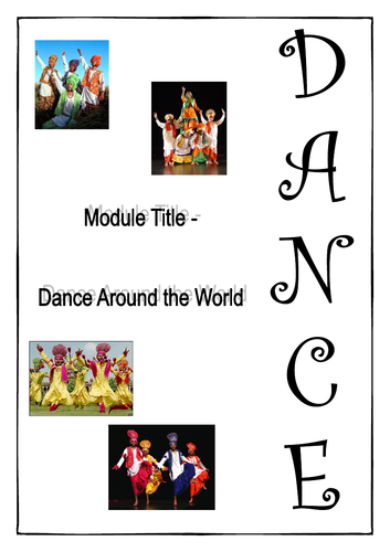 Dance around the World - Student Booklet