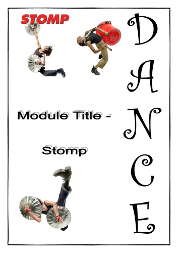 Stomp - Student Work Booklet