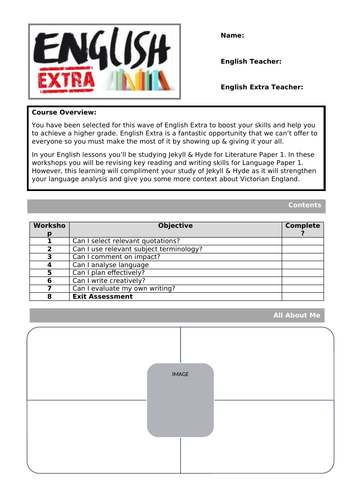 Y11 Intervetion Booklet