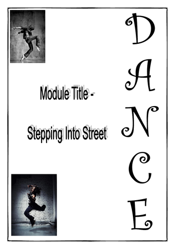 Stepping into Street - Work Booklet