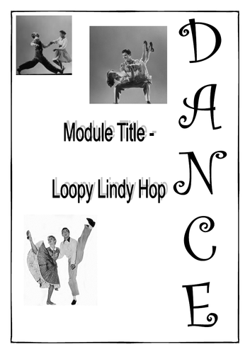 Lindy Hop - Work Booklet