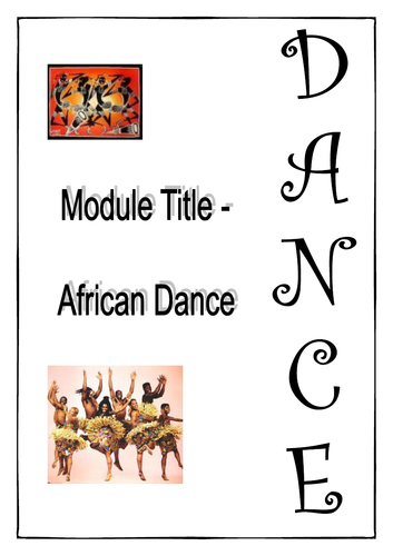 African - Work Booklet