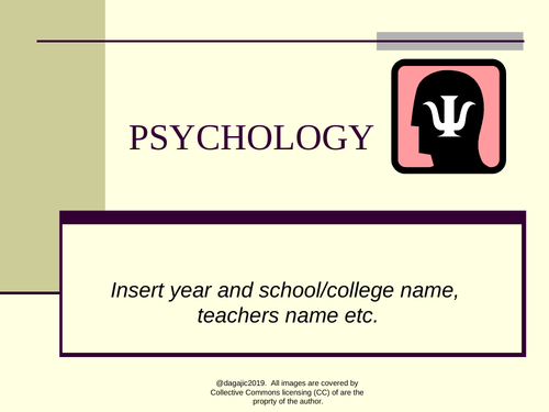 Introductory Taster Session (AQA A Level Psychology)