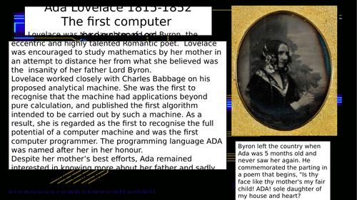 STEM and Ada Lovelace