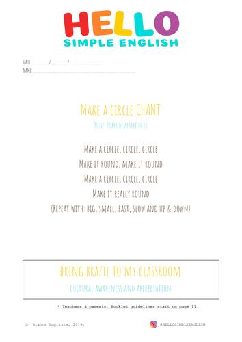 Make a Circle Booklet