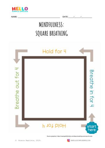 Square Breathing: Mindfulness