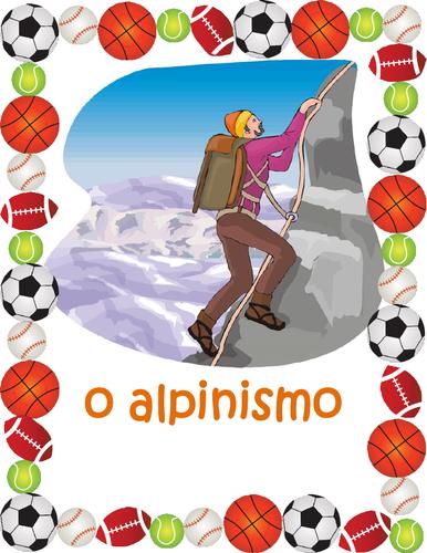 Desportos / Esportes (Sports in Portuguese) Posters