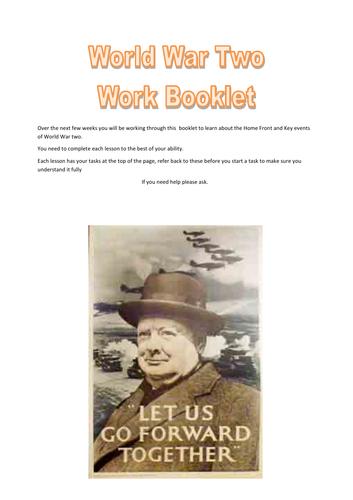 World War 2 Booklet/Cover/Lockdown