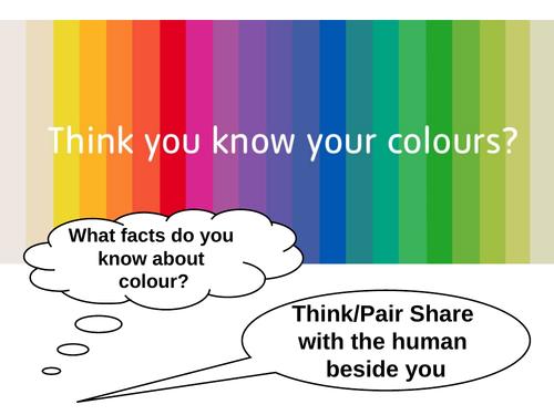 Colour Mixing Art