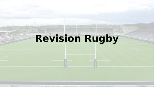 Revision Rugby