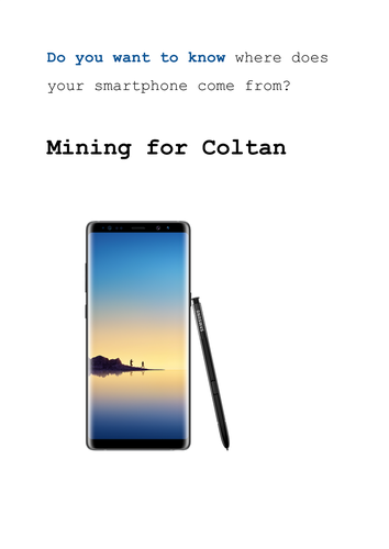 Mining for Coltan