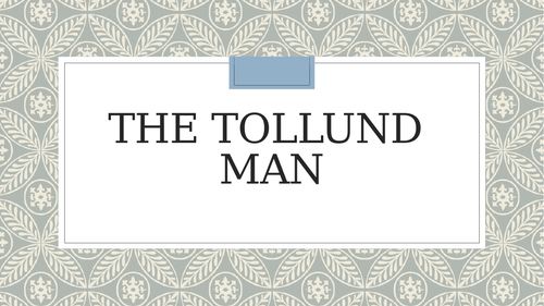 The Tollund Man Heaney poetry