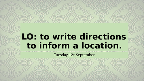 How to Train Your Dragon - Writing Directions