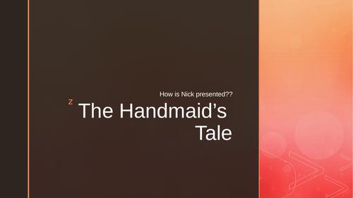 The Handmaid's Tale Nick analysis