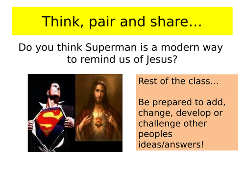 Atonement theories: Christus Victor  and Moral Exemplar theories KS3 lessons
