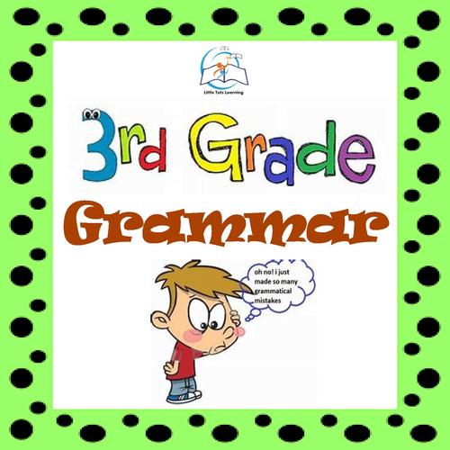 3rd Grade Grammar | 3rd Grade Grammar Worksheets & Assessments