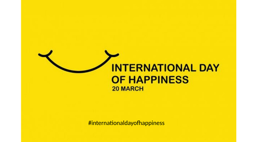 International Day of Happiness Tutor Session / Assembly / PSHE