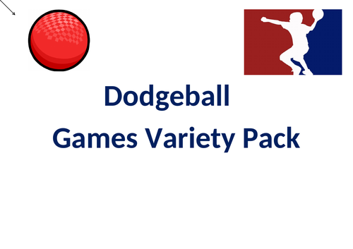 Dodgeball Games Variety Pack