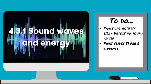 4.3.1 Sound waves, water waves, and energy (AQA KS3 Activate 2)