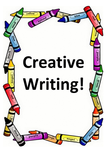 Creative Writing Booklet