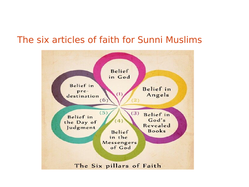 Introduction to the 6 Articles of Faith