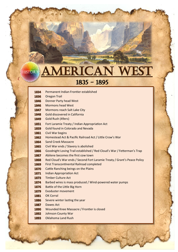 Edexcel Pearson American West Activity Booklet
