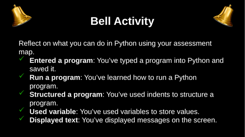 Programming - (Textual) Python: Lesson 8 Ghost game