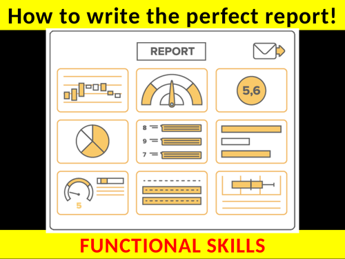 Writing a REPORT (with examiner podcast) - Functional Skills English
