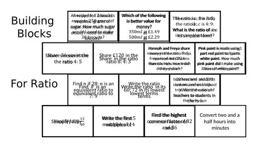 Building Blocks - Ratio