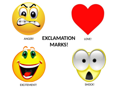 EXCLAMATION MARKS!